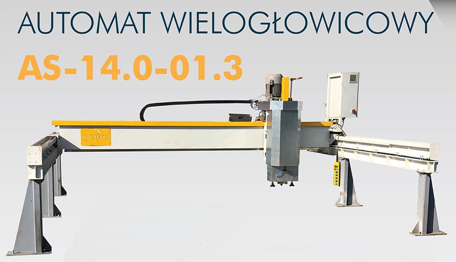 новинка Шлифовальный автомат для обработки камня AS-14.0-01.3