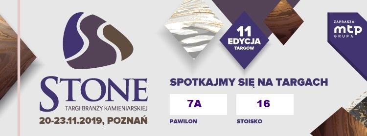 Targi branży kamieniarskiej STONE 2019
